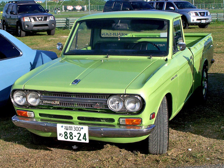 download DATSUN PICK UP521 workshop manual