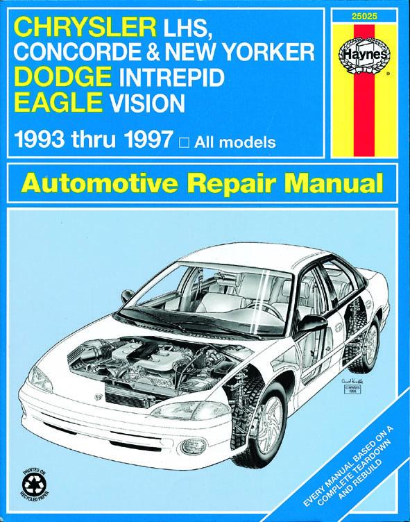 download DODGE Concorde workshop manual