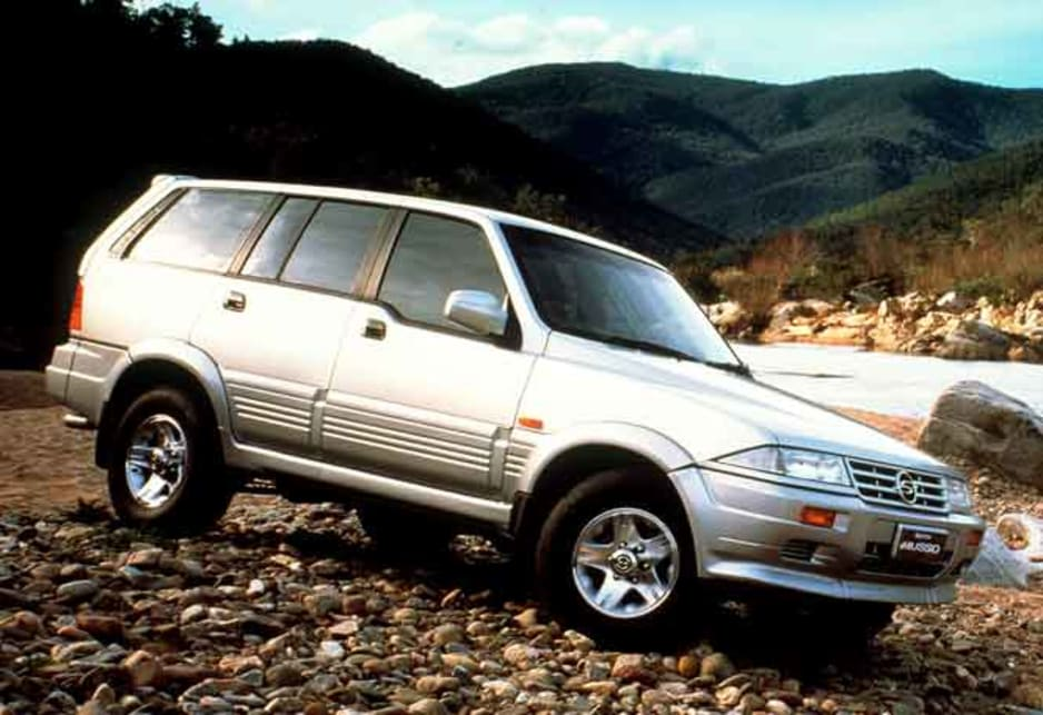download Daewoo Musso able workshop manual