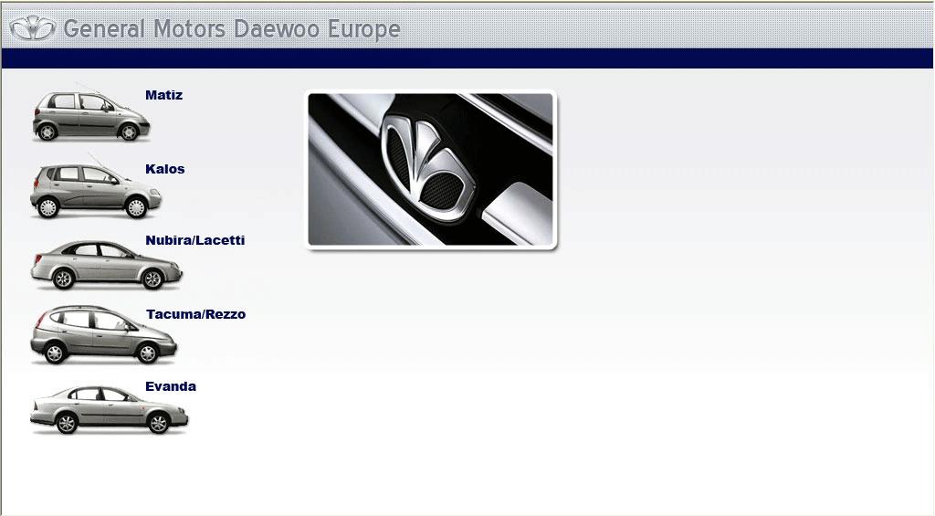 download Daewoo Tacuma workshop manual