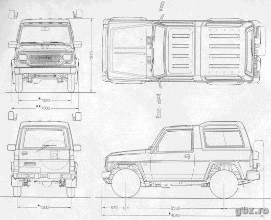 download Daihatsu Rugger F70 F75 F77 workshop manual