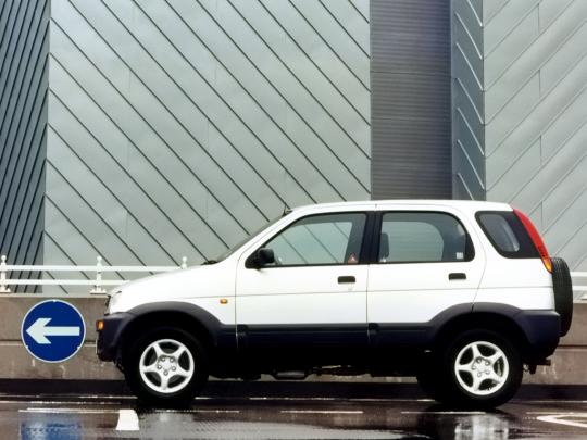 download Daihatsu Terios J100 able workshop manual
