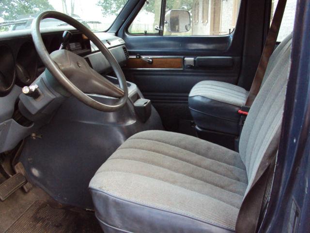 download Dodge B250 workshop manual