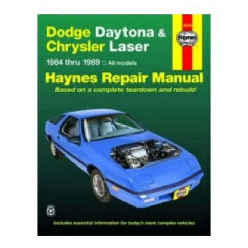 download Dodge Daytona workshop manual