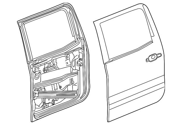 download Door Shell Right workshop manual