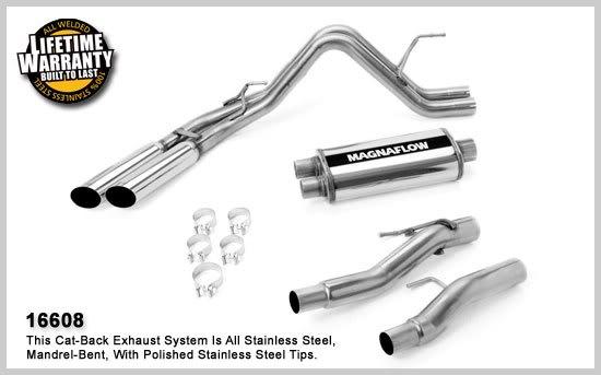 download F150 Street Exhaust System Catalytic Converter Back With Muffler V6 3.7L workshop manual