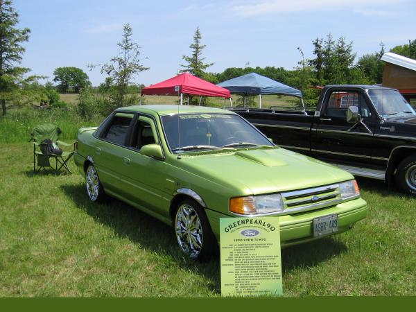 download FORD TEMPO workshop manual