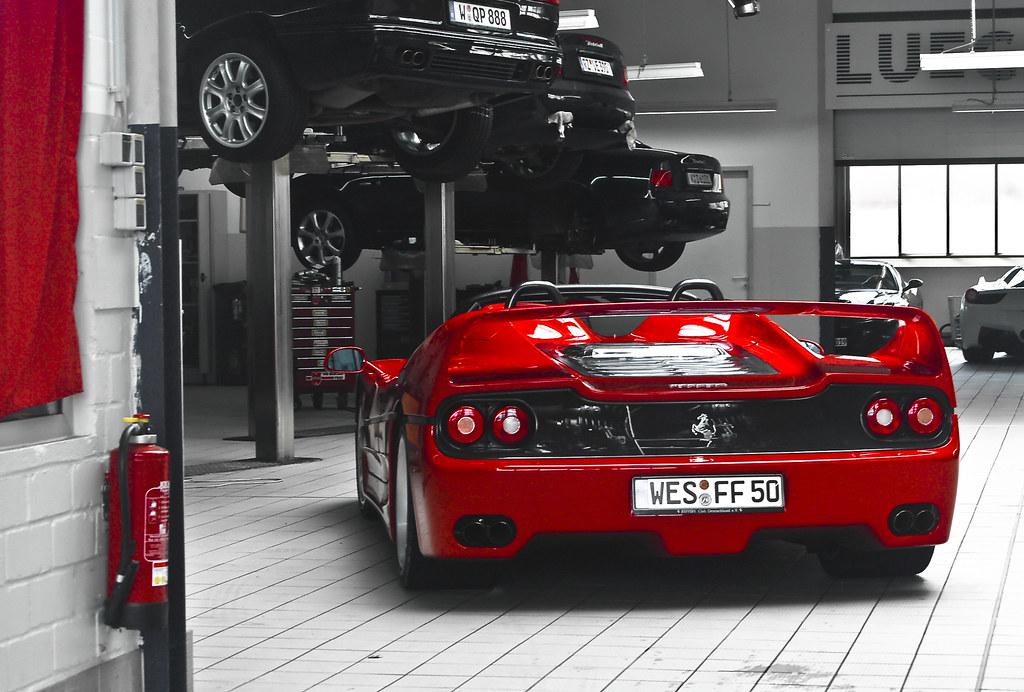 download Ferrari F50 workshop manual