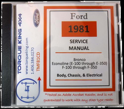 download Ford Gas Brake Socks workshop manual