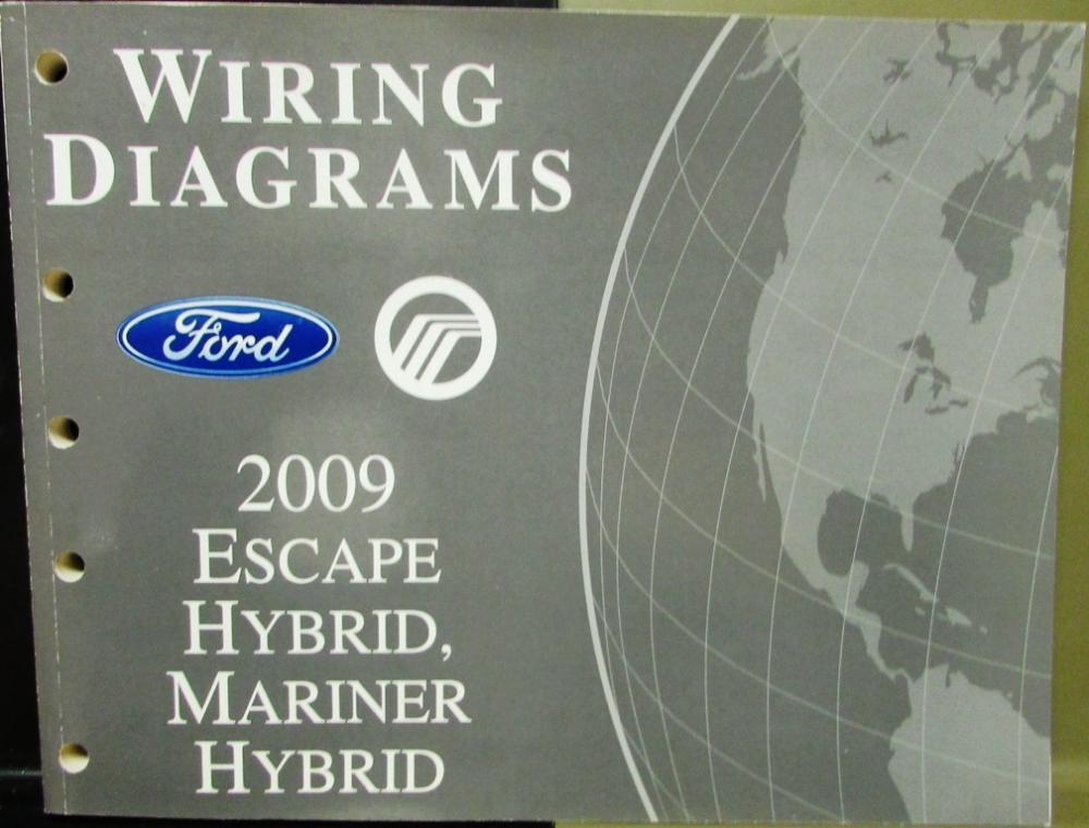 download Ford Mariner Hybrid workshop manual