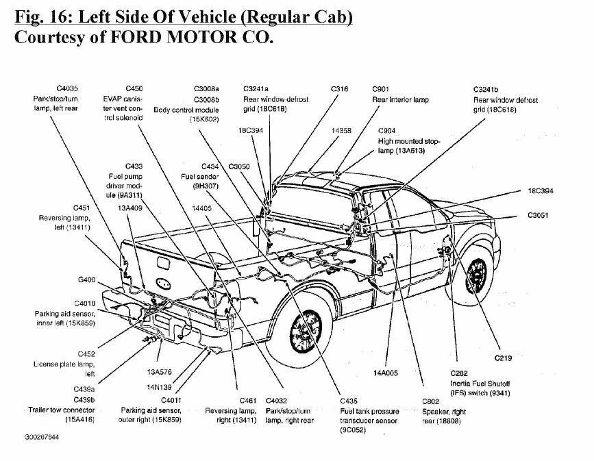 download Ford Pickup Truck Fuel Tank Vent Valve workshop manual
