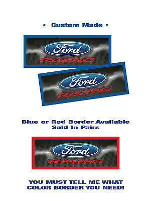 download Ford Racing Windshield Decal with Ford Ovals workshop manual