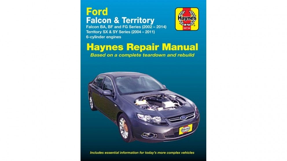 download Ford Territory SY workshop manual
