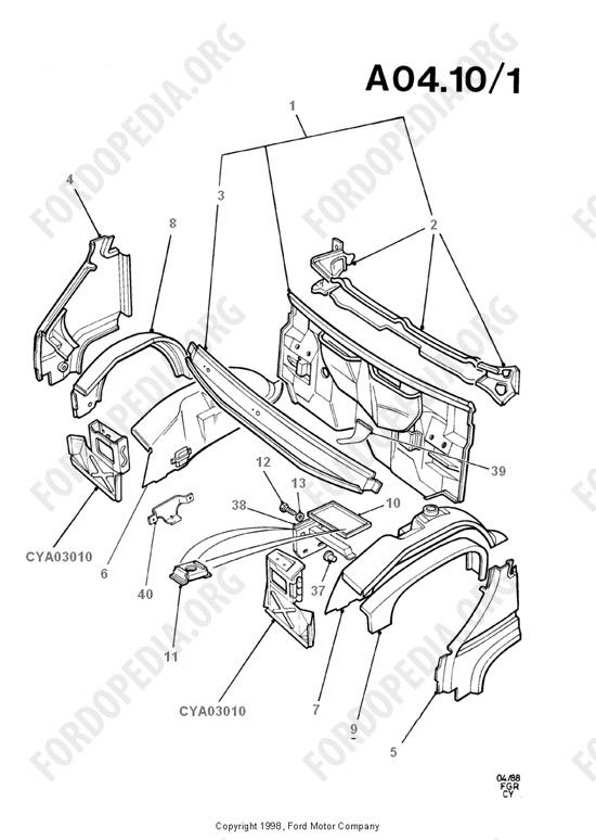 download Ford Transit Engine A0407 19 workshop manual
