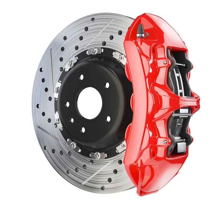 download Four Piston Disc Brake Caliper Assembly Left Reproduction workshop manual