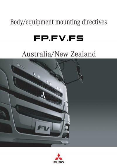 download Fuso Fighter FP FS FV workshop manual