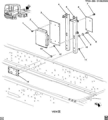 download GMC 8500 Topkick Truck workshop manual
