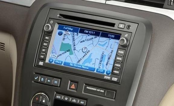 download GMC Acadia Navigation workshop manual