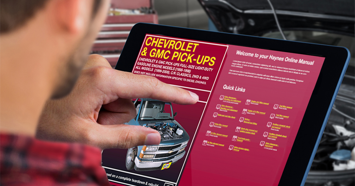 download GMC C2500 workshop manual