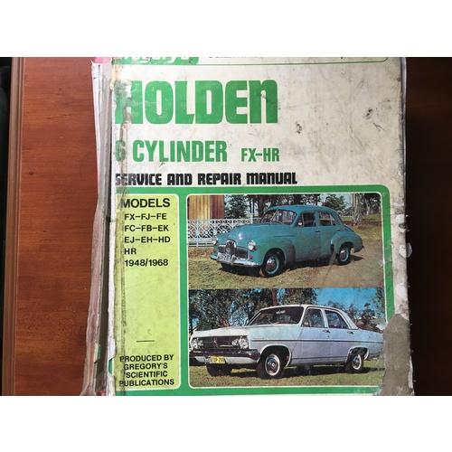 download HOLDEN 48 50 FX FJ FE FC FB EK EJ EH HD HR workshop manual
