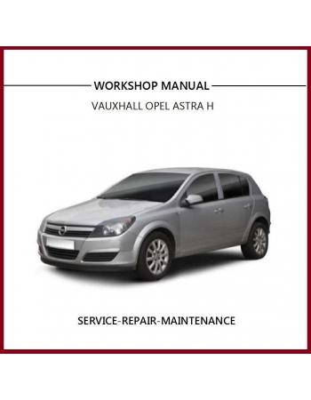 download HOLDEN ASTRA H workshop manual