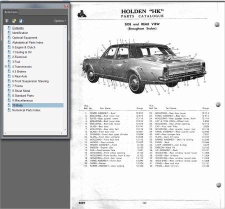 download HOLDEN HK U MONARO GTS BROUGHAM workshop manual