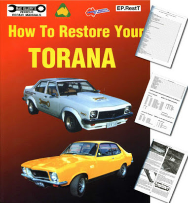 download HOLDEN TORANA LH LX UC L34 SLR5000 ASSEMBLY workshop manual