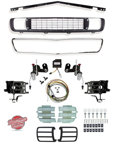 download Headlight Bezel Cars With Standard Trim Non Rally Sport Left workshop manual