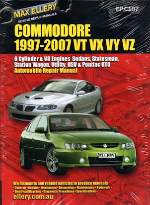 download Holden Berlina VE workshop manual