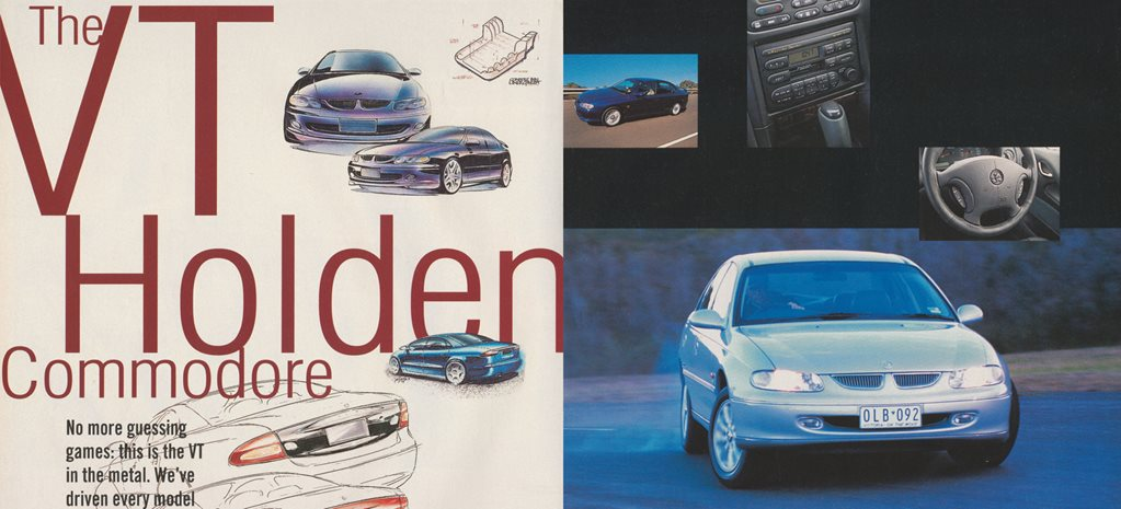 download Holden Calais VT I workshop manual