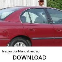 download Holden Commodore VT II workshop manual