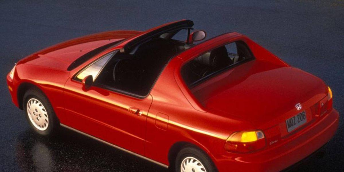 download Honda Civic DEL SOL able workshop manual