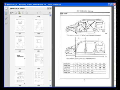 download Hyundai Trajet workshop manual