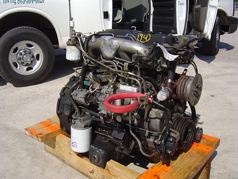 download ISUZU NPR HD W3500 W4500 V8 workshop manual