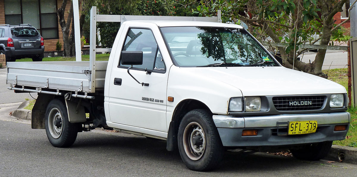 download ISUZU RODEO HOLDEN RODEO KB TF 140 workshop manual
