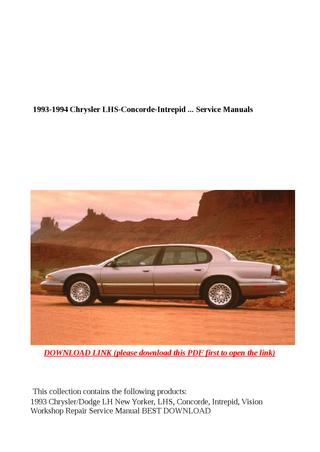 download Intrepid Concorde LHS Vision NewYorker workshop manual