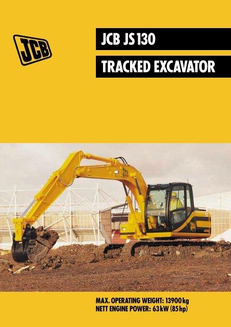 Jcb Js150lc Tracked Excavator Workshop Service Repair Manual
