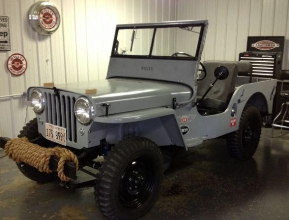 download Jeep CJ 2A 1945 1946 1947 1948 workshop manual