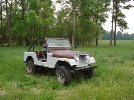 download Jeep CJ 6 workshop manual