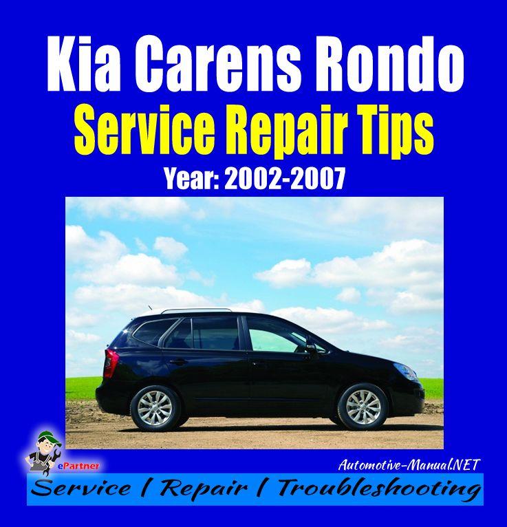 download Kia Rondo workshop manual