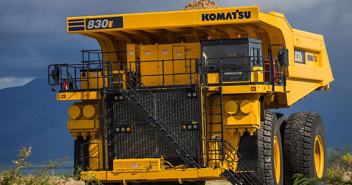 download Komatsu 930E DumpTruck able workshop manual