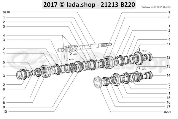 download LADA NIVA workshop manual
