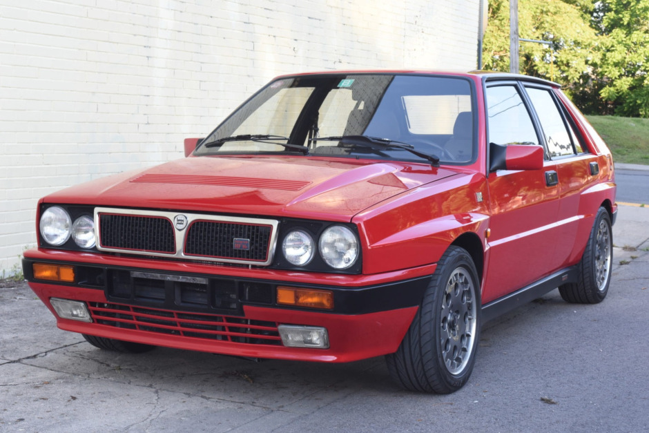 download LANCIA DELTA INTEGRALE workshop manual