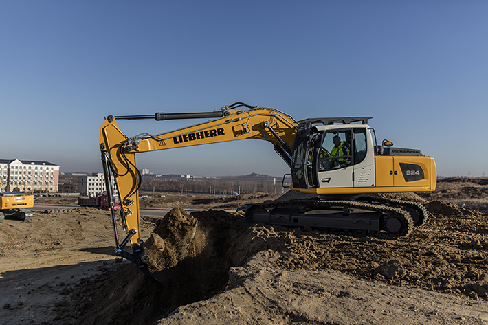 download LIEBHERR R924 COMPACT Hydraulic Excavator able workshop manual