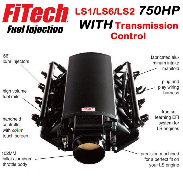 download LS Fuel Injectionfor LS1 LS2 LS6 750HP With Trans. Control  FiTech 70004 workshop manual