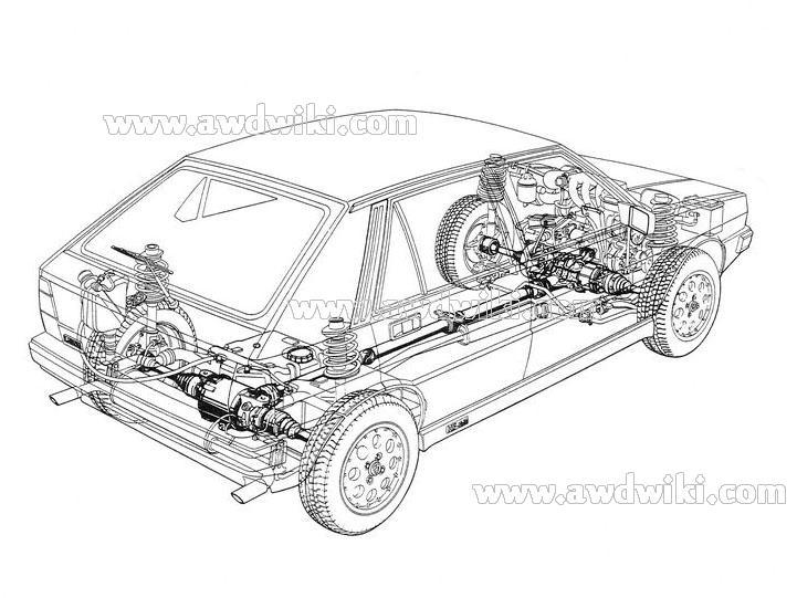 download Lancia Delta Prisma 4WD able workshop manual