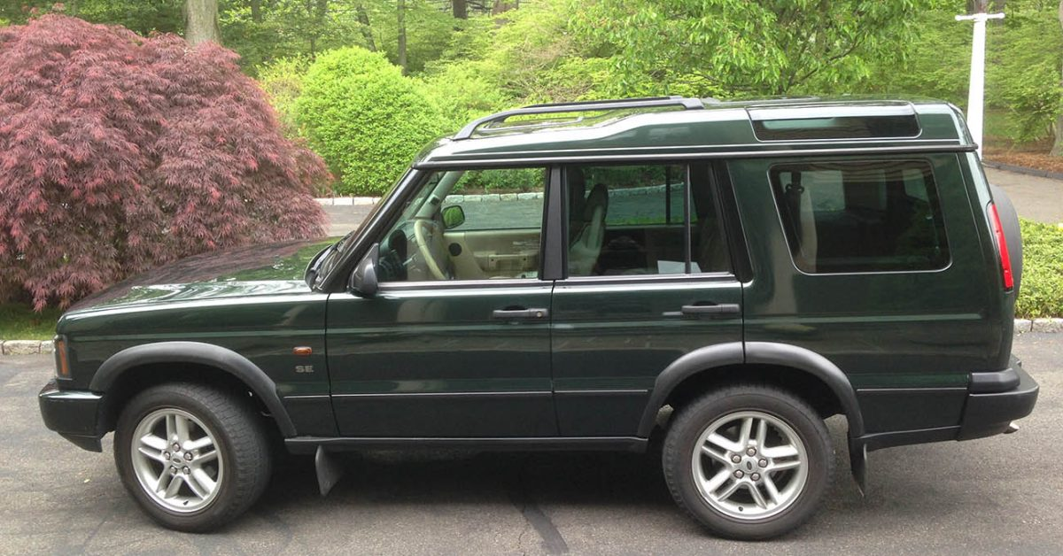download Land Rover DISCOVERY IIModels M workshop manual
