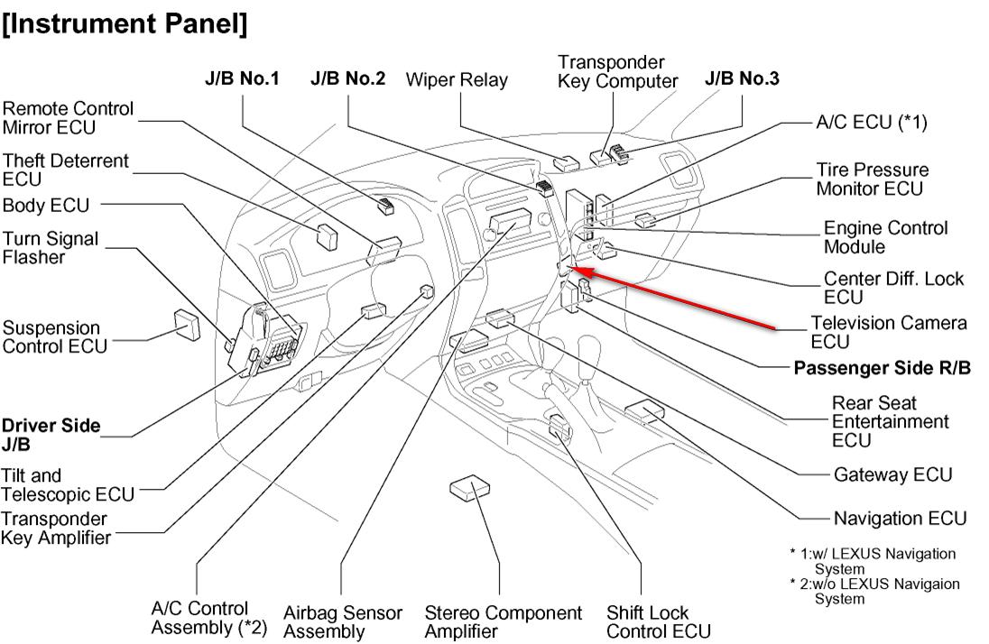 download Lexus GX470 workshop manual