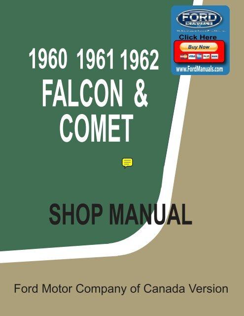 download Lift Cylinder Right Or Left Falcon Comet workshop manual