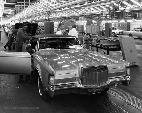download Lincoln MK III workshop manual